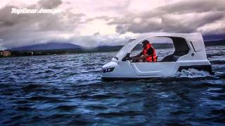The Filipino-made Salamander amphibious tricycle