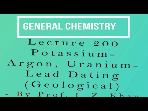 how is potassium argon dating used to date fossils