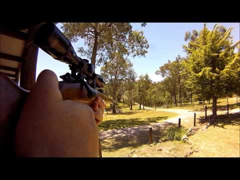 1940's German Mauser .22 Cal bolt action rifle. GOPRO stock mount!!!