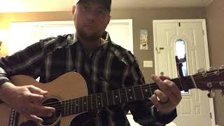 monday morning merle-cody johnson (guitar lesson) (chords in description)