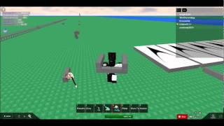 ~ROBLOX~ how to make a simple gun on ultimate build