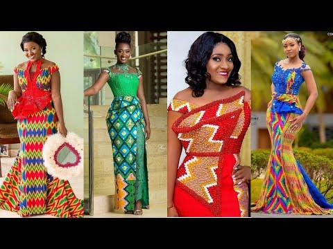 Latest 2020#Ghana Wedding Dresses Vol.1# Kente Ankara Trendy Styles: African Fashion