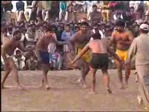 Kabbadi 2010 in M.B.Din by Sahab Part 05