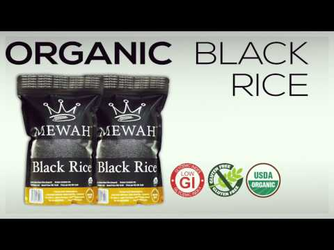 Mewah Organic Black Rice is a Superfood!
