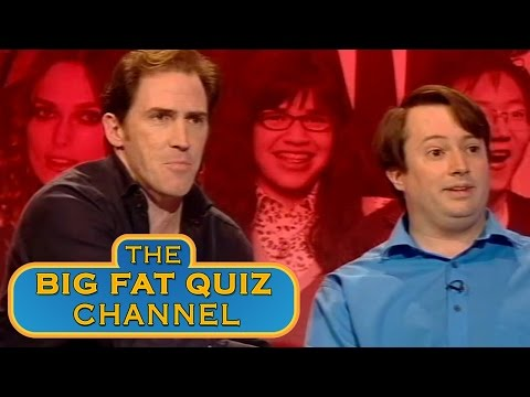 Rob Brydon's Brilliant David Mitchell Impression  The Big Fat Quiz of the Year 2007