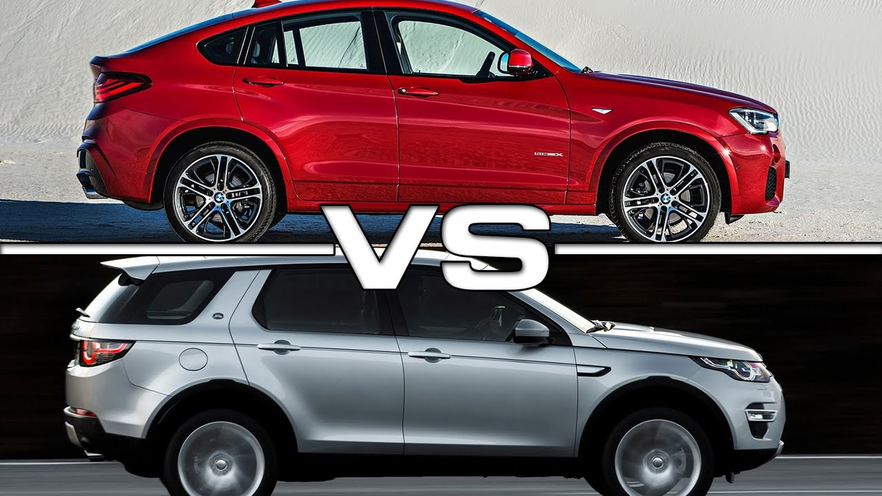 2015 Bmw X4 Vs 2015 Land Rover Discovery Sport Youtube