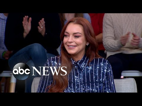 Lindsay Lohan says she's 'comfortable' being back in the spotlight