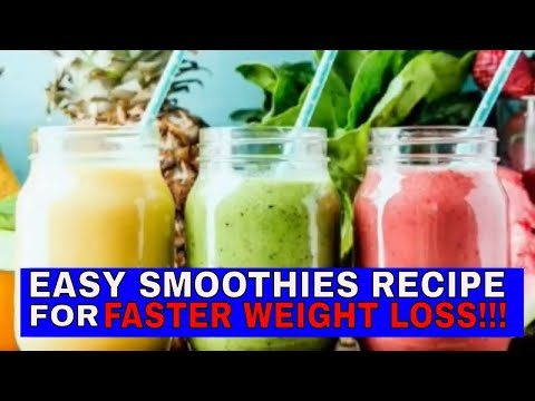Top 5 WEIGHT LOSS SMOOTHIES RECIPE!!  LOSE WEIGHT FAST SMOOTHIES DIET.💪# YouTube #channel