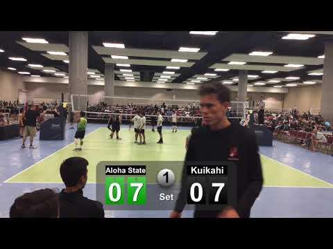June 15, 2019 ALOHA STATE 16u vs Ku'ikahi 16R set 1