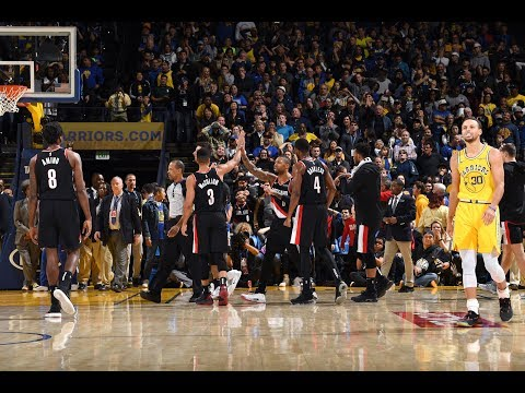 "Damian Lillard Brought ""Dame Time"" To Oakland And Beat The Golden State Warriors in OT"