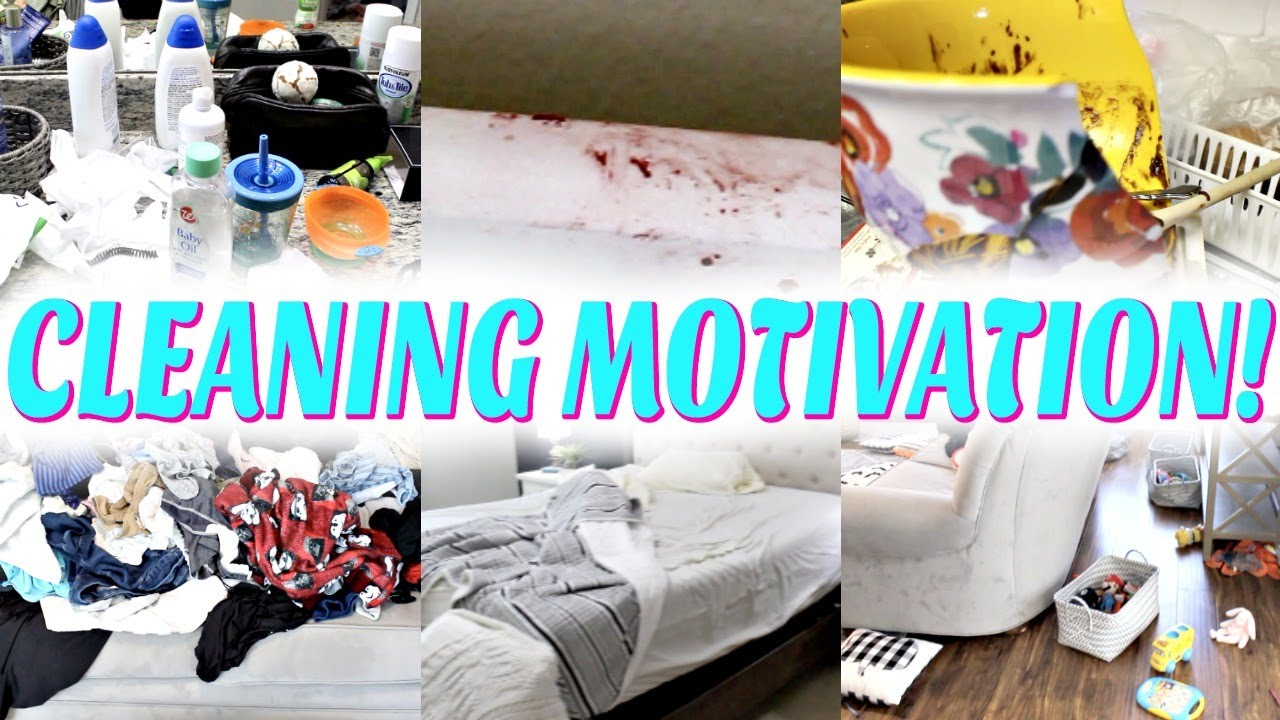NEW! *COMPLETE DISASTER* CLEANING MOTIVATION! EXTREME CLEAN WITH ME 2020! ACTUALLY MESSY HOUSE! SAHM