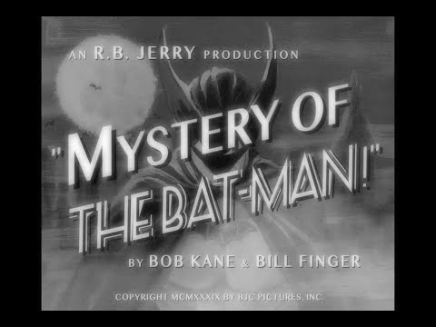 "MYSTERY OF THE BATMAN! (1939) Chapter 1 - ""The Case of the Chemical Syndicate"""