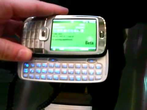 Hands on HTC S710 smartphone