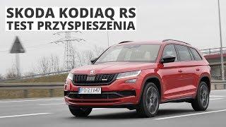 Skoda Kodiaq RS 2.0 TDI 240 KM (AT) - acceleration 0-100 km/h
