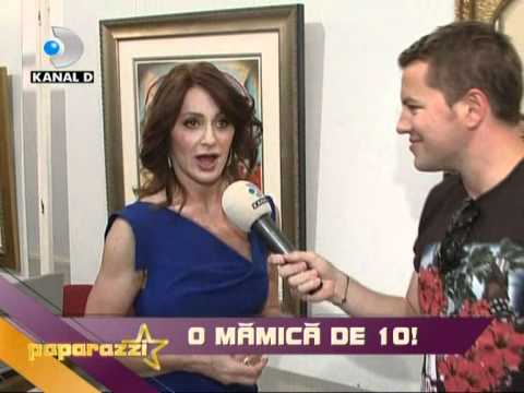 D-Paparazzi, Kanal D, Nadia Comaneci-o mama de nota 10!