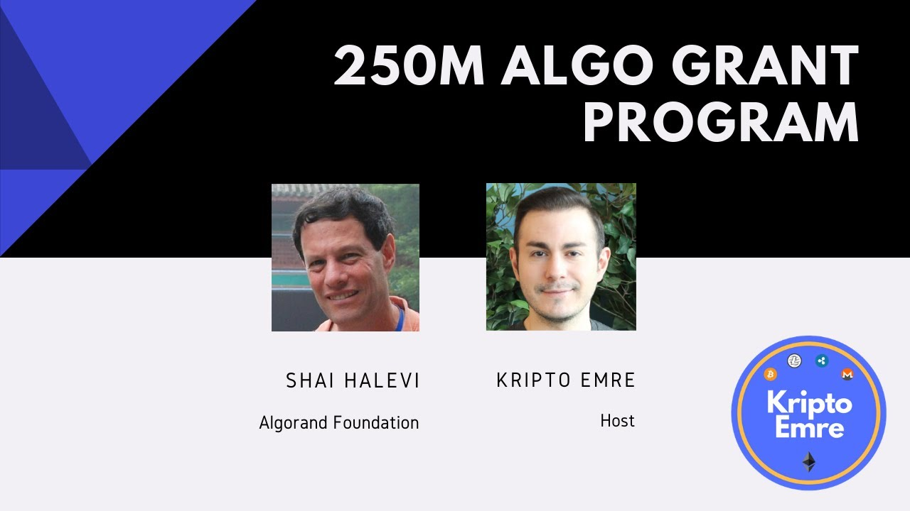 6月4日(木)24:00~、アルゴランド財団2億5000万ALGO助成金プログラム