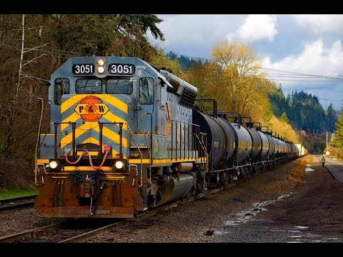 Frenzy of trains in Washington and Oregon state!