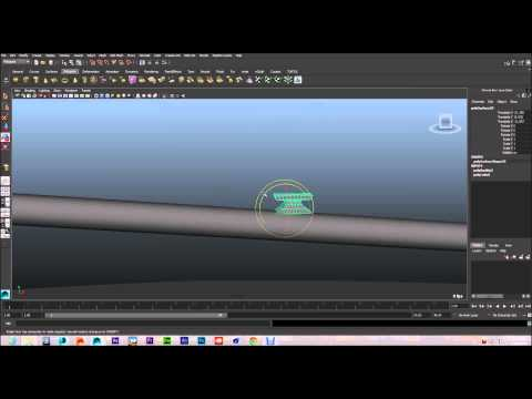 Modeling a Boat In Maya-Designing Main Sail and components