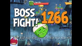 Angry Birds 2 Boss Fight 181! Chef Pig Level 1266 Walkthrough - iOS, Android
