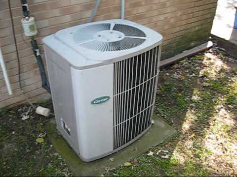 1993 Carrier Air Conditioner - YouTube