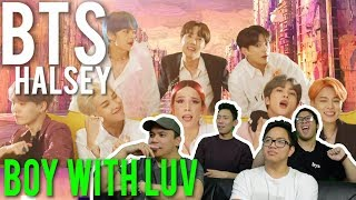 BTS x HALSEY - BOY WITH LUV (MV Reaction)