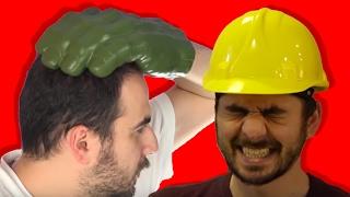 Hulk Eli ile Yaşanır Mı? | Korse Giydik | İnşaat Bareti Sağlam Mı? | Çılgın Testler