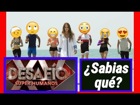 Desafío Súper Humanos ¡Lo Que No Sabía! - Iván Maldonado