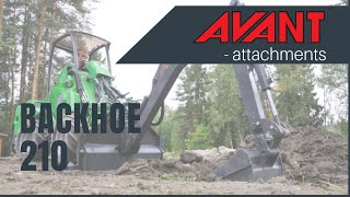 Backhoe 210 2, Avant 300-700 Series attachment Thumbnail