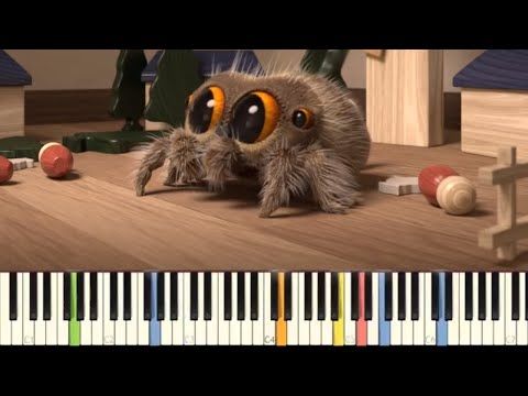 download Lucas The Spider - Giant Spider - IMPOSSIBLE REMIX - Piano Cover