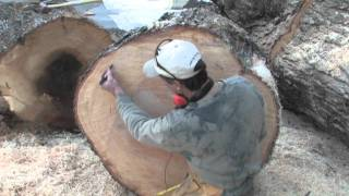 Cutting Wood To Make Bowls.mov