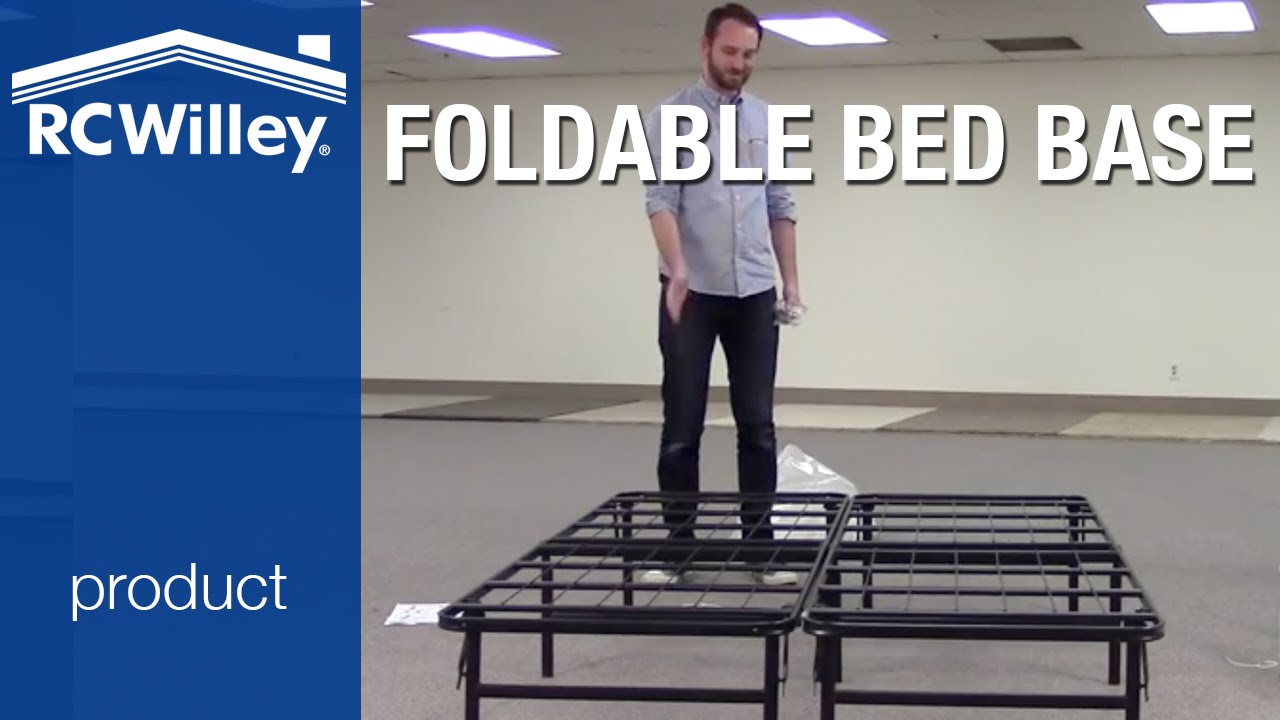 super easy folding mattress base