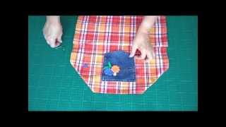 Make a Dish Towel into a Kid's Apron - OWIMO Design Upcycling Thumbnail