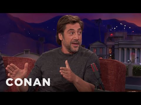How Javier Bardem Chose His Butt Double  - CONAN on TBS