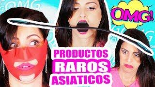 Probando Productos Raros Asiaticos + SORTEO INTERNACIONAL ♥ SandraCiresArt