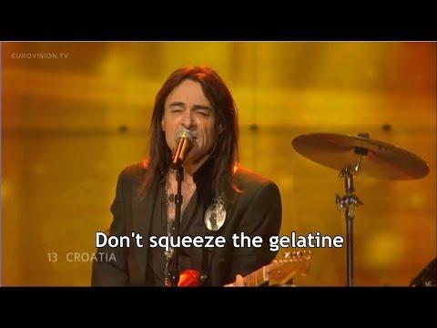 Croatian Eurovision Song with Misheard English Lyrics - 'Who Put Curry in My Rhubarb?'