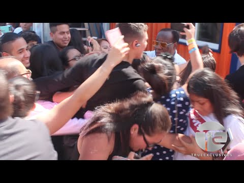 CNCO Gets Mobbed At Coney Island