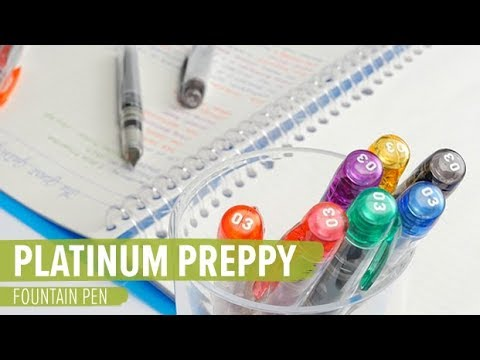 Platinum Preppy Fountain Pen
