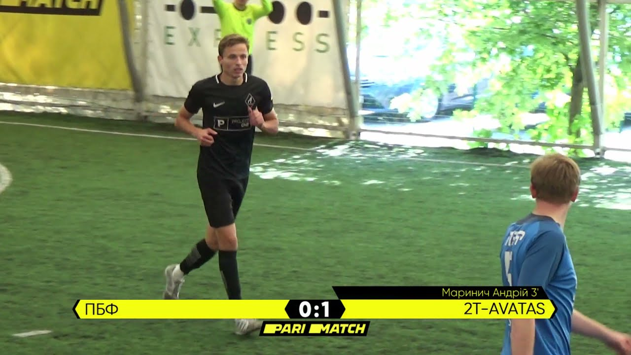 Огляд матчу | ПБФ 1 : 7 2T-AVATAS | Parimatch League 2021