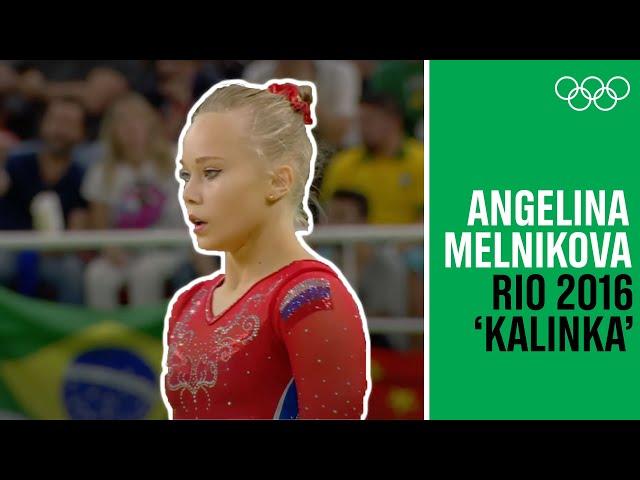 Angelina Melnikova's amazing Rio Floor Routine!