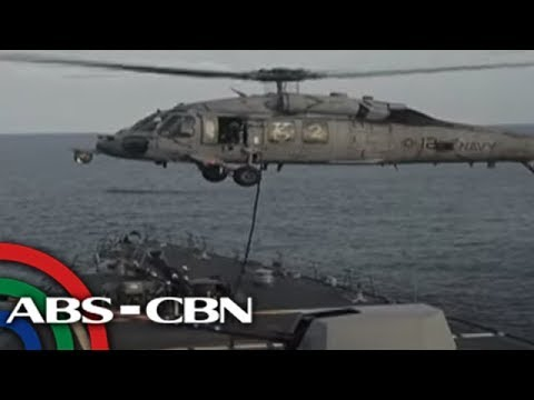 The World Tonight: U.S.S. Carl Vinson flies jet fighters in South China Sea