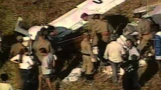 Cantor Herbert Vianna sofre acidente de ultraleve (2001) YouTube Videos