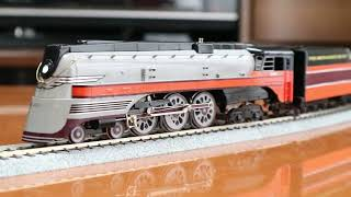 NPP/KMT Milwaukee Hiawatha F7 4-6-4 WITH DCC QSI SOUND