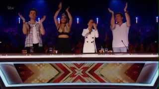 Louisa Johnson The x factor apresentações legenda