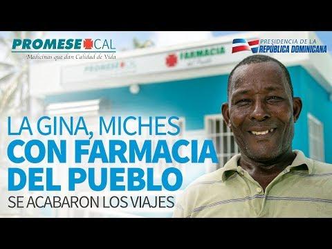 VIDEO: La Gina, Miches. Con Farmacia del Pueblo se acabaron los viajes