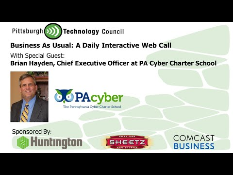 Business as Usual Featuring Brian Hayden, PA Cyber Charter School