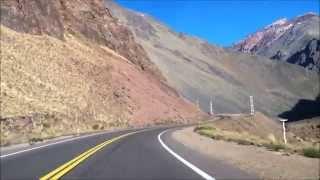 Ruta Nacional 7   de Mendoza (Argentina) à Santiago (Chile) - Março 2015