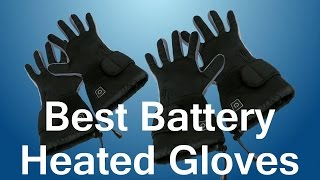 Battery Operated Heated Gloves (Warm, Lightweight, Flexible and Soft)