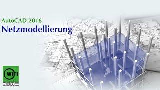 Autocad-training 2016: Netzmodellierung  12/14