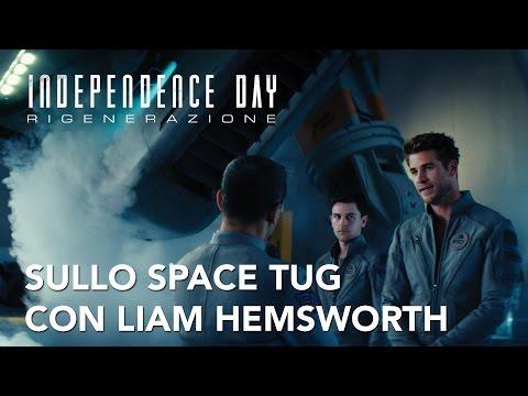 Sullo space tug con Liam Hemsworth | Independence day: Rigenerazione | 20th Century Fox