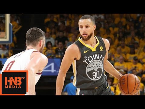 Cleveland Cavaliers vs Golden State Warriors 1st Half Highlights / Game 2 / 2018 NBA Finals
